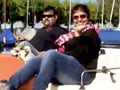 Video: A filmy holiday in Switzerland for Rakesh and Shruti