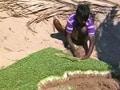 Video : कम पानी और बंजर जमीन में उग रही है 'समुद्री मेथी'