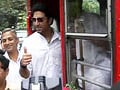 Video : Abhishek's BEST wishes for Film City workers