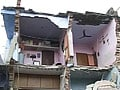 Video : Ahmedabad building collapses, at least three feared trapped
