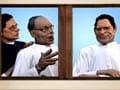 Video: Rajnath Singh's art class for BJP leaders