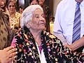 Video : Big B wishes fan on her 100th birthday