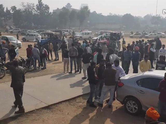 "Video : ""Long Live Farmers' Unity"": In Kurukshetra, ""Mahapanchayat"" To Back Protests Against Farm Laws"