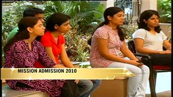 Video : Mission Admission 2010: Pursuing CA along with graduation