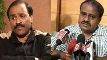 Video : Kumaraswamy attacks Reddy brothers