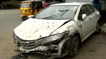Video : Speeding car kills 2 in Chennai, student driver arrested