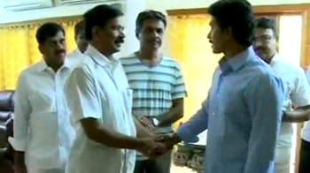 Video : When Jagan's Telangana show was blocked