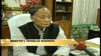 Video : Manipur's troubled highways