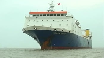Video : Arms-laden ship brought to Kolkata port