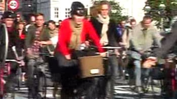 Video : A city where cycling is a routine