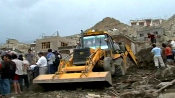 Video : Leh flash floods: 115 killed, over 500 injured