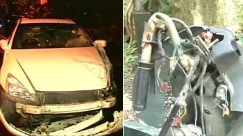Videos : Mumbai: Builder's son kills one in car accident