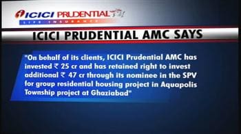 Video : ICICI Prudential AMC to buy 49% stake in Ansal API subsidiary