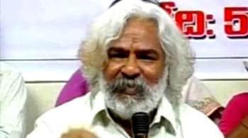 Video : Gadar floats Telangana party