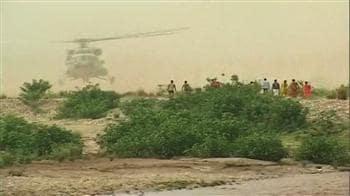 Video : हेलीकॉप्टर से बचाए गए श्रद्धालु