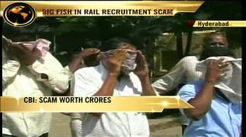 Video : CBI arrests 8 people, including son of RRB chief