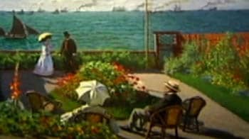 Video : Biggest exhibition of Monet paintings