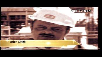 Video : Bhopal tragedy: Arjun Singh breaks silence