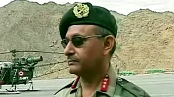Video : Army explains damage in Leh