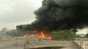 Video : फैक्टरी में आग