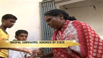 Video : Bhopal tragedy survivors ignored by state?