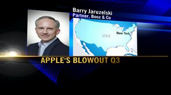 Video : Booz & Co on Apple's strong fiscal Q3 numbers