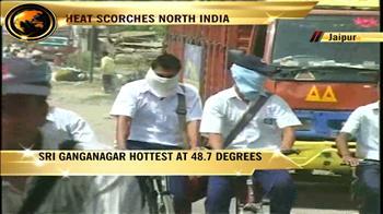 Video : Heat scorches north India