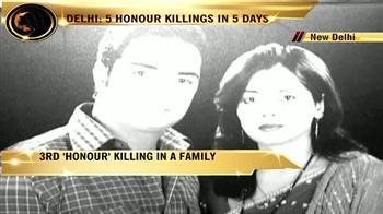 Video : One Delhi family, three honour killings