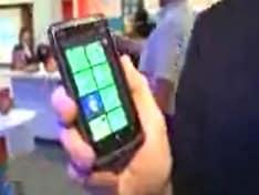Microsoft Windows 7 phones hit store shelves