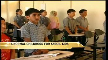 Video : A normal childhood for Kargil kids