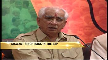 Video : Jaswant back in BJP, 10 months after expulsion