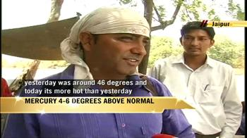 Video : Rajasthan battles intense heat wave