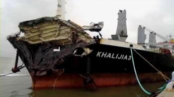 Video : Mumbai oil slick: Probe finds Khalijia to blame