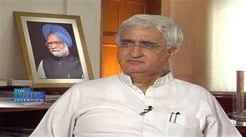 Video : Salman Khurshid on Satyam scam probe