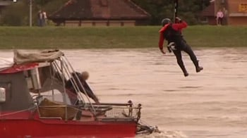 Video : Dramatic rescue from sinking boat in Croatia
