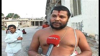 Video : Temple wheelchair row: Priest speaks to NDTV