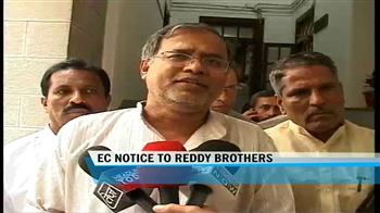 Video : Election Commission notice to Reddy brothers