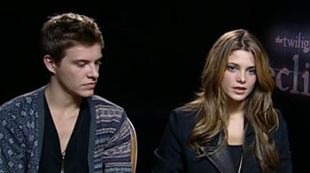 Video : 'Eclipse' actors talk about their characters and fame