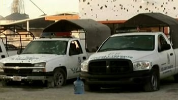 Video : Entire police force of a Mexican town quits