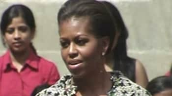 Video : My parents gave me strong values: Michelle Obama