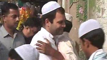 Video : Rahul Gandhi's UP Eid