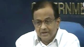 Video : No patent on saffron terror remark: Chidambaram