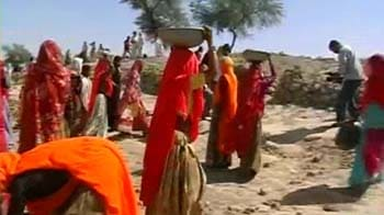 Video : One rupee a day for NREGA labourers in Tonk
