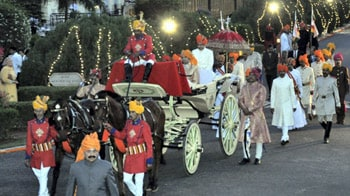 Video : The truly majestic royal wedding in Rajasthan