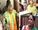 Video : George Fernandes stays with wife, for now