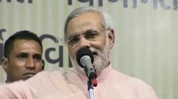 Video : Modi: Congress will field CBI candidates next