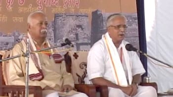 Video : Ajmer blasts probe: RSS chief to lead nationwide protests