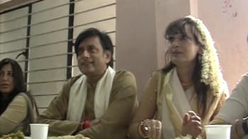 Video : Onam with Mrs and Mr Tharoor