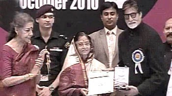 Video : Big B receives National Award for Best Actor