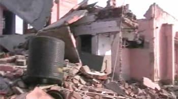 Video : Blast near Kanpur health centre; 4 dead